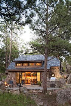 Mountain Cottage by Golden, Colo. Mountain Cottage by Golden, Colo. Mountain Cottage, Mountain Homes, Mountain Cabins, Mountain Home Exterior, Architecture Design, Log Cabin Homes, Cabins And Cottages, Cabins In The Woods, House Plans