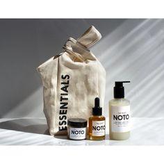 THE ESSENTIALS KIT – NOTO Botanics The Essential, New Skin, Head To Toe, Essentials, Kit, Cotton Canvas, Cleanse, Serum, Organic Cotton