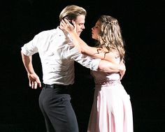 Bindi Irwin and Derek Hough compete on Dancing With the Stars.