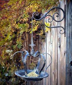 even a bird feeder can be beautiful.