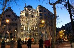 Das Casa Batlló in Barcelona - eines der berühmten Kunstwerke Gaudís