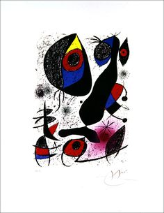 Joan Miró, Untitled, from Miró à l'encre Miro Artist, Joan Miro Paintings, Spanish Artists, Art Courses, Moon Art, Beautiful Artwork, Sculpture, Art Projects, Abstract Art