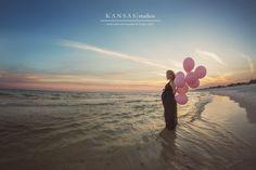 Baby Avery is on the way | a lush and beach maternity session {beach maternity photographer} | kansas studios | kansas pitts photography