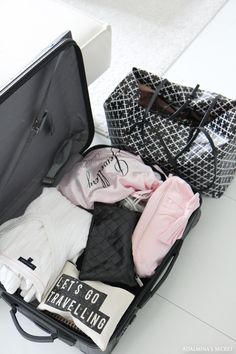 Rimowa luggage and Malene Birger weekend bag - Adalmina's Secret