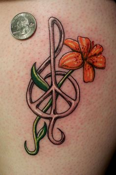 I want this tattoo just with a purple rose. The rose is for my grandmother. Damn, I miss her.