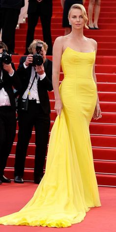 The Best of the 2015 Cannes Film Festival Red Carpet - Charlize Theron from #InStyle