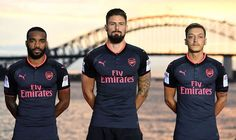 Arsenal launch stunning third kit but Lacazette and Ozil don't look impressed via Arsenal FC - Latest news gossip and videos http://ift.tt/2tdfoeW Arsenal FC - Latest news gossip and videos IFTTT