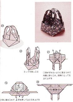 252 Best Origami boxes images in 2019 | Origami, Origami box