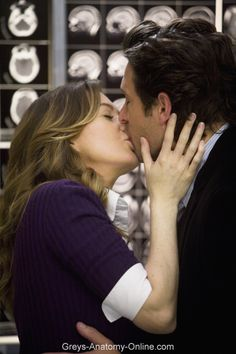 30 Day Grey's Anatomy Challenge - Day 4: Favorite couple. There are so many couples that I love on the show, but it's hard to pick anyone but MerDer!