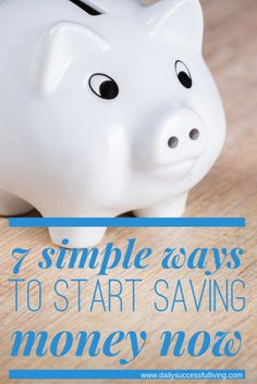 Saving money is the quickest way to build wealth. 7 simple steps anyone can take to learn to save more money, by paying themselves first.