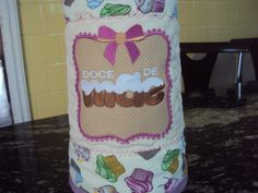 Capa de térmica especial para as mamães!! www.saldaterrapatchwork.blogspot.com Face: Renata Deichsel