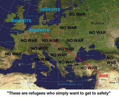 """""""These refugees just want to get to safety"""" Poll Questions, Scum Of The Earth, Cognitive Dissonance, Syrian Refugees, Trigger Happy, Political Satire, North Sea, Mediterranean Sea, What Goes On"""