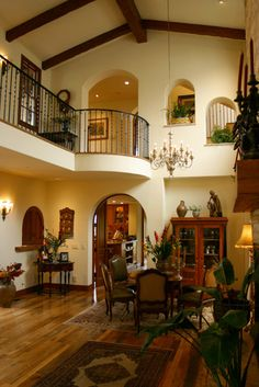 Mediterranean Dining Room Design, Pictures, Remodel, Decor and Ideas - page 26