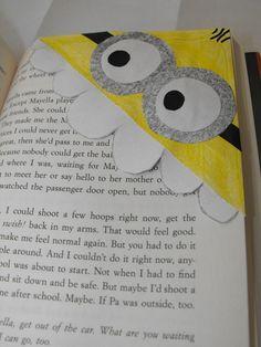 Diy Despicable Me Minion Bookmark  I LOVE IT!