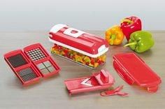 Foto: Το Nicer Dicer Smart είναι ο νέος πολυκόφτης που σας λύνει τα χέρια! Κόβει εύκολα και γρήγορα λαχανικά και φρούτα! Για δροσερές σαλάτες και...  όχι μόνο! Δείτε εδώ: http://www.telemarketing.gr/gr/spiti/koyzina-mageirikh/triftes-polykoftes/kopths-laxanikon-nicer-dicer-smart-set-9-tem/