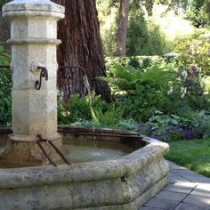 French Fountain in Atherton