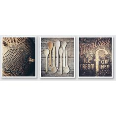 Rustic Home Decor, Rustic Kitchen Decor, Country Kitchen Decor,... ($38) ❤ liked on Polyvore featuring home, home decor, wall art, canvas wall art and canvas home decor