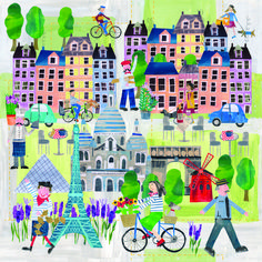 Cut Paper, Paper Cutting, Create Canvas, City Scapes, Freelance Illustrator, Surface Pattern Design, Collages, Homeschool, Crafts For Kids