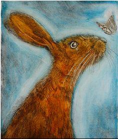 """Close Encounter"" - Ian MacCulloch (etching)"