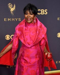 Can we just take a moment to acknowledge how incredible the legendary Cicely Tyson looked at the 2017 Emmy Awards tonight?! #Emmys #becauseofthemwecan