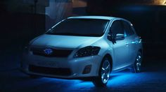 Toyota Auris Hybrid: 'Get Your Energy Back' 3D projection mapping