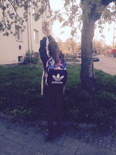 I and my ADIDAS BAG 😻😻😻
