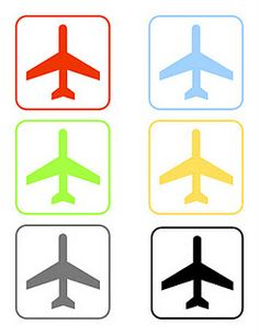 Airplane Printables & more decorating ideas