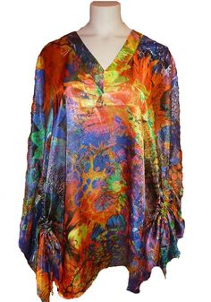New top in satin very comfortable. Look at all the colors! click on the photo to purhase it