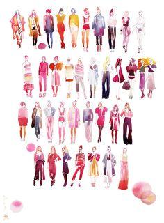 fashion illustration by Samantha Hahn
