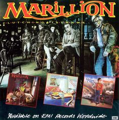 Marillion - Tourbook - Clutching At Straws - Winter Of pixels 80s Music, Rock Music, Live Rock, Progressive Rock, Pop Rocks, New Age, Music Is Life, Hard Rock, Cool Bands