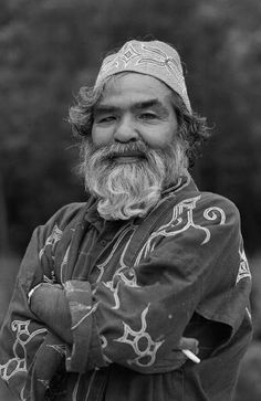 """Ainu, Portrait of the Wind"" series, 2013 by Makiko Ui"
