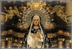 VIrgen de los Dolores... Semana Santa de Zaragoza.