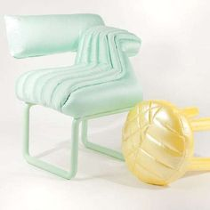 Inflatable Furniture Collections - The Puffy Series by Jessica Carnevale is Full of Summer Fun (GALLERY)