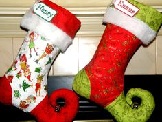 Elf stocking