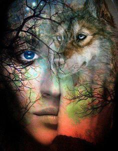 I may be human but, my spirit is a wolf. My soul is a wolf. We are all wolves on the inside. Wolf Spirit, My Spirit Animal, Wolves And Women, Wolf Love, Beautiful Wolves, Lone Wolf, Animal Totems, Native American Indians, Urban Art