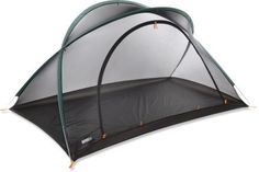 Made for adventure travelers and minimalist backpackers, the Bug Hut Pro 2 is a 2-person shelter that protects against flying insects—and now it offers extra protection from those critters! EPA-registered, odorless Insect Shield® Repellent Gear repels mosquitoes, ticks, flies, and fleas