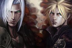 Sephiroth & Cloud