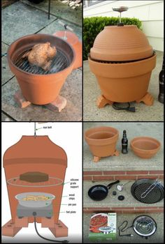 Waste Your Money 20 DIY Barbecue Ideas,That Will Save You Money - Decor Un., - how to earn money -Dont Waste Your Money 20 DIY Barbecue Ideas,That Will Save You Money - Decor Un., - how to earn money - Outdoor Oven, Outdoor Cooking, Outdoor Smoker, Diy Smoker, Build A Smoker, Homemade Smoker, Materiel Camping, Rocket Stoves, Terracotta Pots