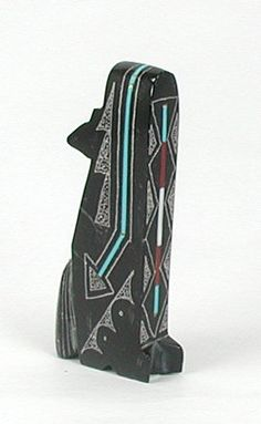 Native American Indian Coyote Fetish carving