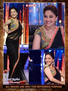 texclusive madhuri dixit bollywood saree-Sarees-texclusive