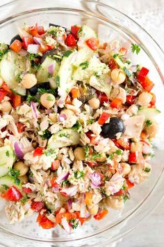 Mediterranean Tuna Salad OnlyAlbacore AD @BumbleBeeSeaFoods