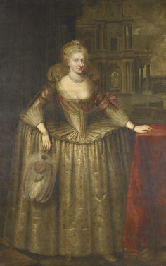ab. 1617-1618 Paul van Somer - Anne of DenmarkHistory of fashion in art & photo