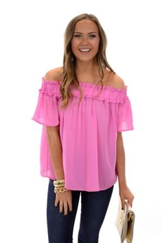 Field Day Top, Pink :: NEW ARRIVALS :: The Blue Door Boutique