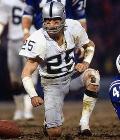 Fred Biletnikoff #25 (WR) - 589 career receptions for 8,974 yards, and 76 touchdowns!