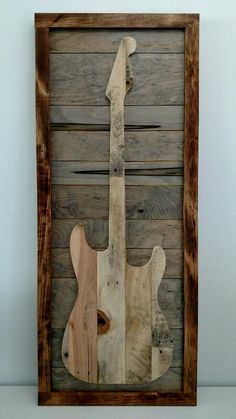 Guitar Art - Full size wall hanging