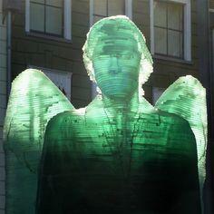 De glazen engel in Zwolle door Herman Lamers