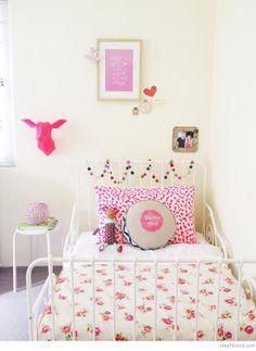 """Foto """"pinnnata"""" dalla nostra lettrice Anna Springolo Bondville: beautiful girls room x"""