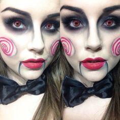 Jigsaw Halloween Make up
