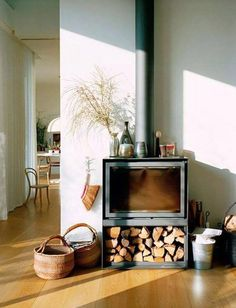 50 Fabulous Country Living Room Design Ideas With Fireplace Mantle - Trendehouse Living Room Designs, Living Spaces, Living Rooms, Fireplace Mantle, Country Fireplace, Simple Fireplace, My New Room, Interior Inspiration, Daily Inspiration