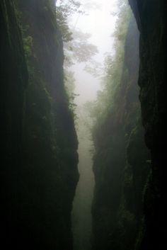 Green crevasse